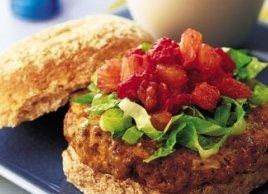 Lamb Burgers with Fruity Relish Recipe