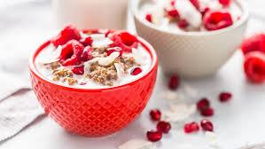 Coconut quinoa & chia porridge